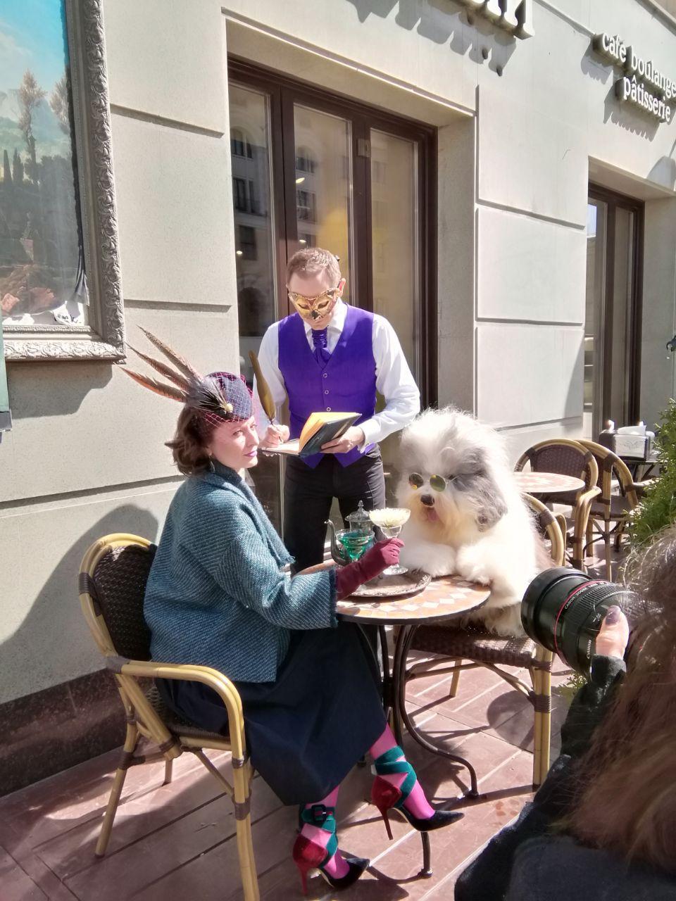 Photos from Tverskaya street