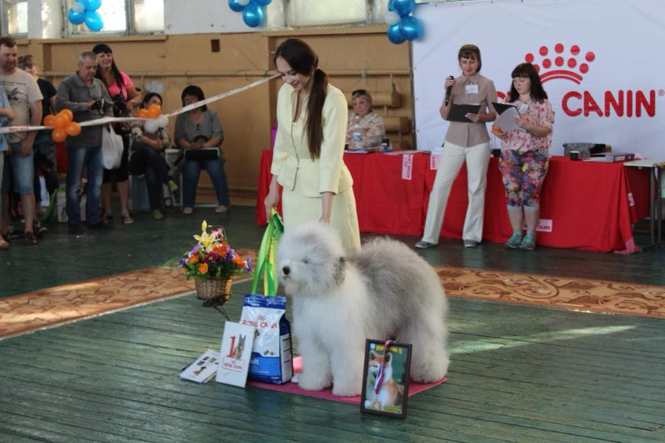 Zosya win her first BEST IN GROUP
