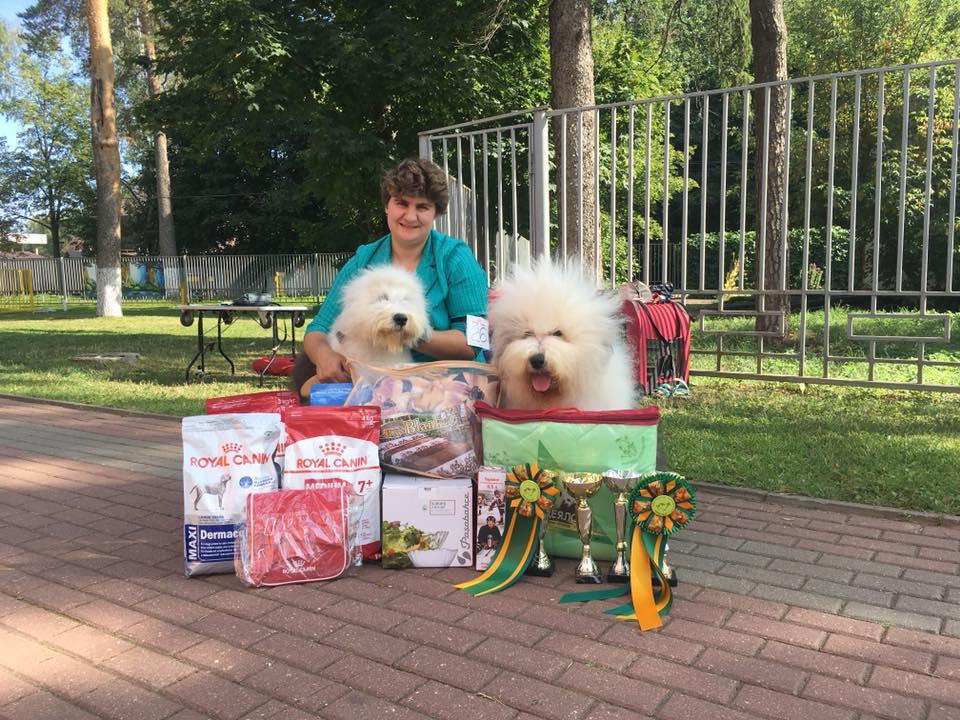 Выставка ранга САС в Наро-Фоминске, Россия 26/08/2018