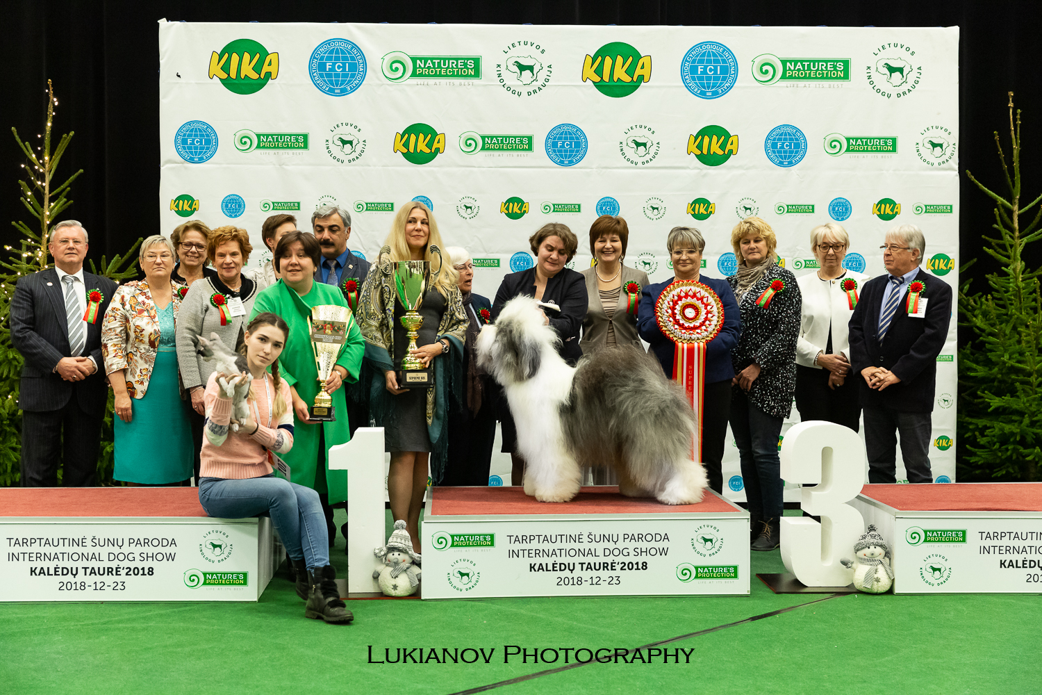 Great 3*CACIB in Lithuania 21-23/12/2018