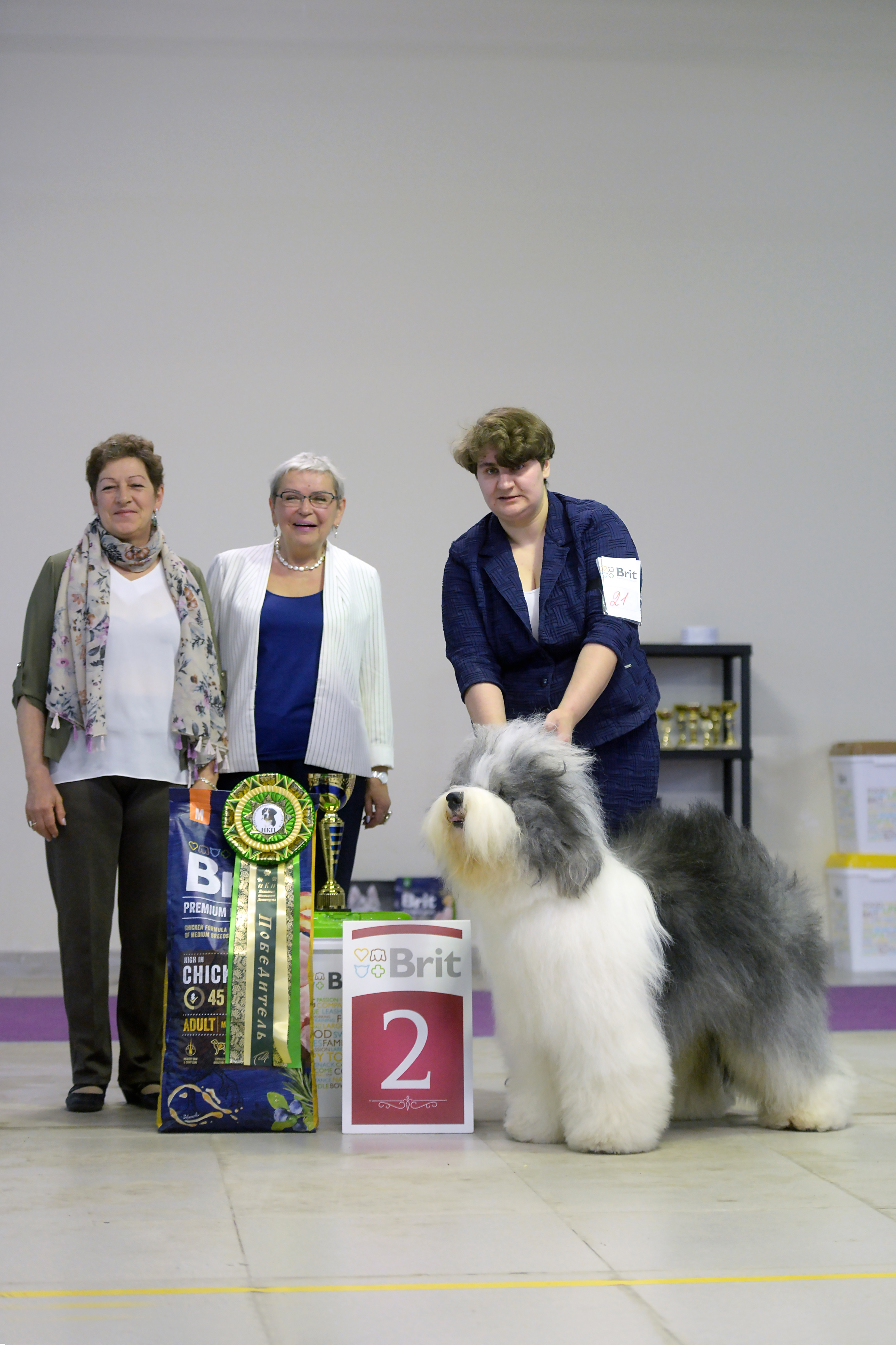 Res.BEST IN SHOW for Misha & Pufa in Moscow, 20.04.2019