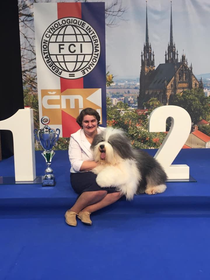 Первая Международная выставка у Миши и первый BEST IN SHOW! 1-2/02/20 Чехия